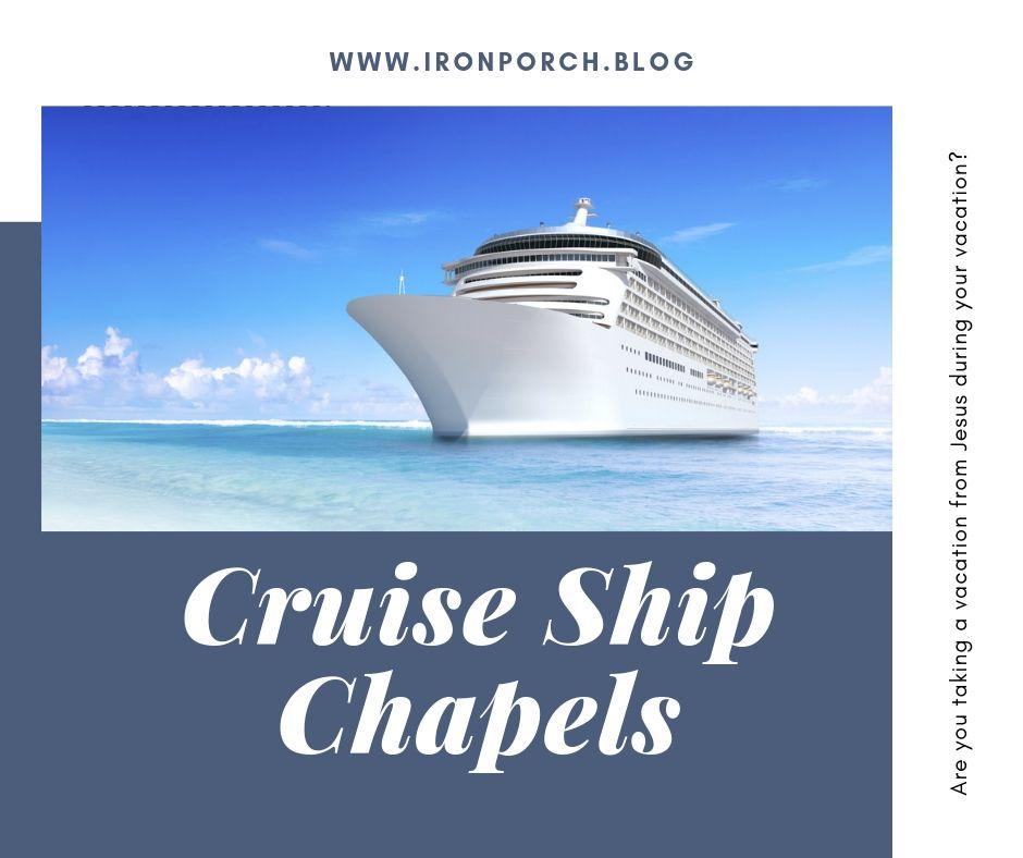 Cruise Ship Chapels